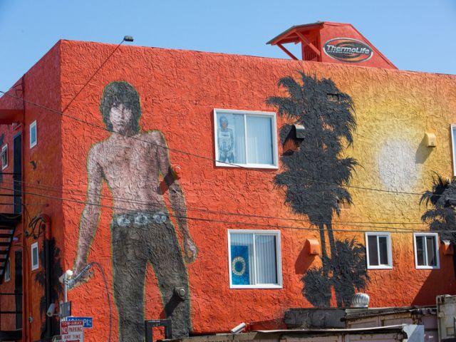 Jim Morrison Mural 1