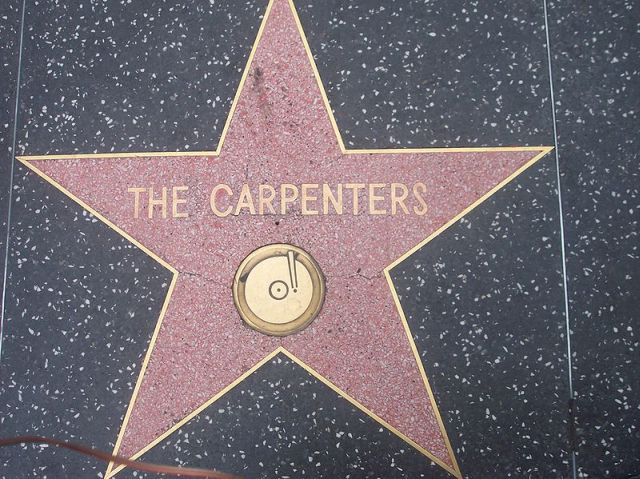 carpenters walk of fame